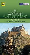 Walker's Map Edinburgh (AA Walker's Maps)