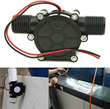 Pmsanzay Universal DC Water Turbine Generator Water 0~80V(5V, 12V,24V,48V, 80V ) for DIY LED Power Light DC 10W Micro-Hydro Water Charging Tool/Small Hydroelectric Power Generator