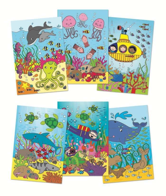 Galt Toys, Water Magic - Under The Sea, Colouring Book for Children, Ages 3 Years Plus