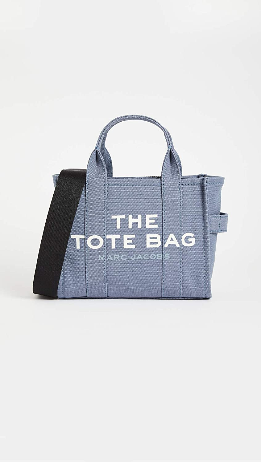 The Marc Jacobs Womens Mini Traveler Tote Bag, Blue Shadow, One Size