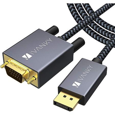 Ivanky 1080p Displayport Auf Vga Kabel 3m Dp Auf Vga Computer Zubehör