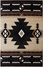 Concord Global Trading South West Native American Area Rug Design C318 Berber (3 Feet X 4 Feet 8 Inch)