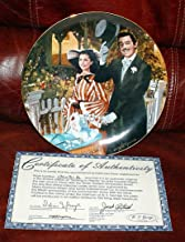 Collector Plate - Gone with the Wind - Golden Anniversary Series Plate #6 - Strolling In Atlanta