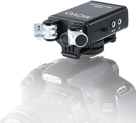 Sony RX10/IV//dsc-rx10/m4 /Audio haute qualit/é Sony A7/II DURAGADGET microphone st/ér/éo pour appareil photo Sony RX10 Sony a99/II/ /Connexion Jack 3.5/mm/