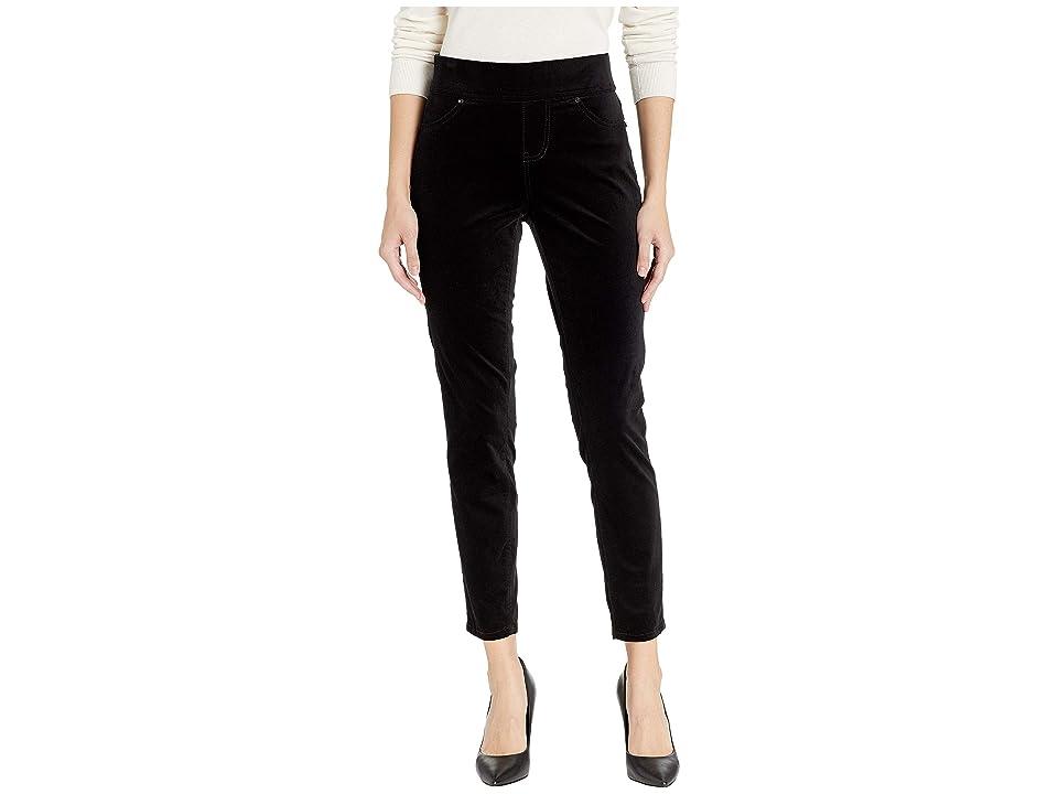 Jag Jeans Marla Pull-On Velveteen Leggings (Black) Women