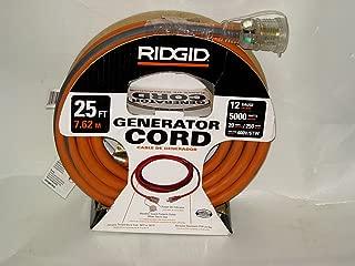 RIDGID 25 ft. 12/4 Generator Cord