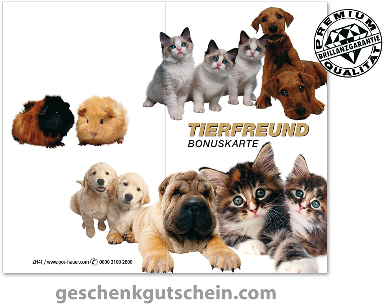 100 Stk. Kundenkarten für den Zoofachhandel, Zoofachhandel, Zoofachhandel, Tierärzte, Tierbedarf ZH41 B075WRGDF3   | Gewinnen Sie hoch geschätzt  7548d7