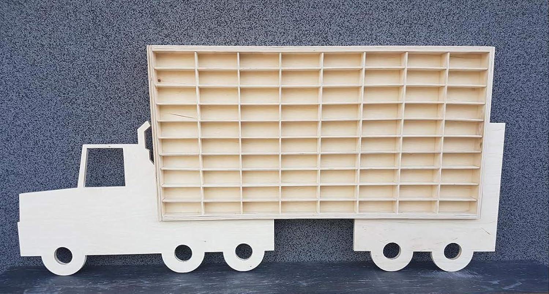 Diecast Car Aufbewahrungsregal, aus Druckguss, groß, für Schmuck, Spielzeug, mit Rädern, aus Druckguss B07L42NG15 Deutschland  | Ausgang