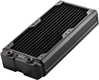 Black Ice Nemesis 240GTX Dual-Core Xtreme Profile Radiator Black Carbon