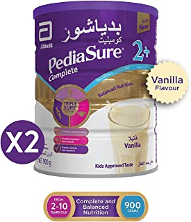 PEDIASURE COMPLETE 2+ VANILLA 900 GM TWIN PACK 35 DHS OFF