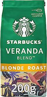 STARBUCKS - Natural Roast gemalen koffie - Veranda Blend - Blonde Roast - Met cacaonoten - 200 gram
