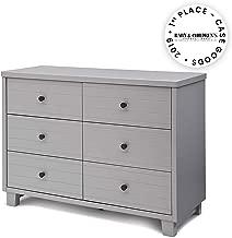 Simmons Kids Rowen Double Dresser, Grey