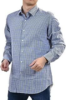 (チット) CIT LUXURY セミワイドカラーシャツ 40 ブルー [並行輸入品]