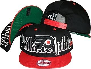 New Era Philadelphia Flyers Big City Punch Plastic Two Tone Snapback Adjustable Plastic Snap Back Hat/Cap