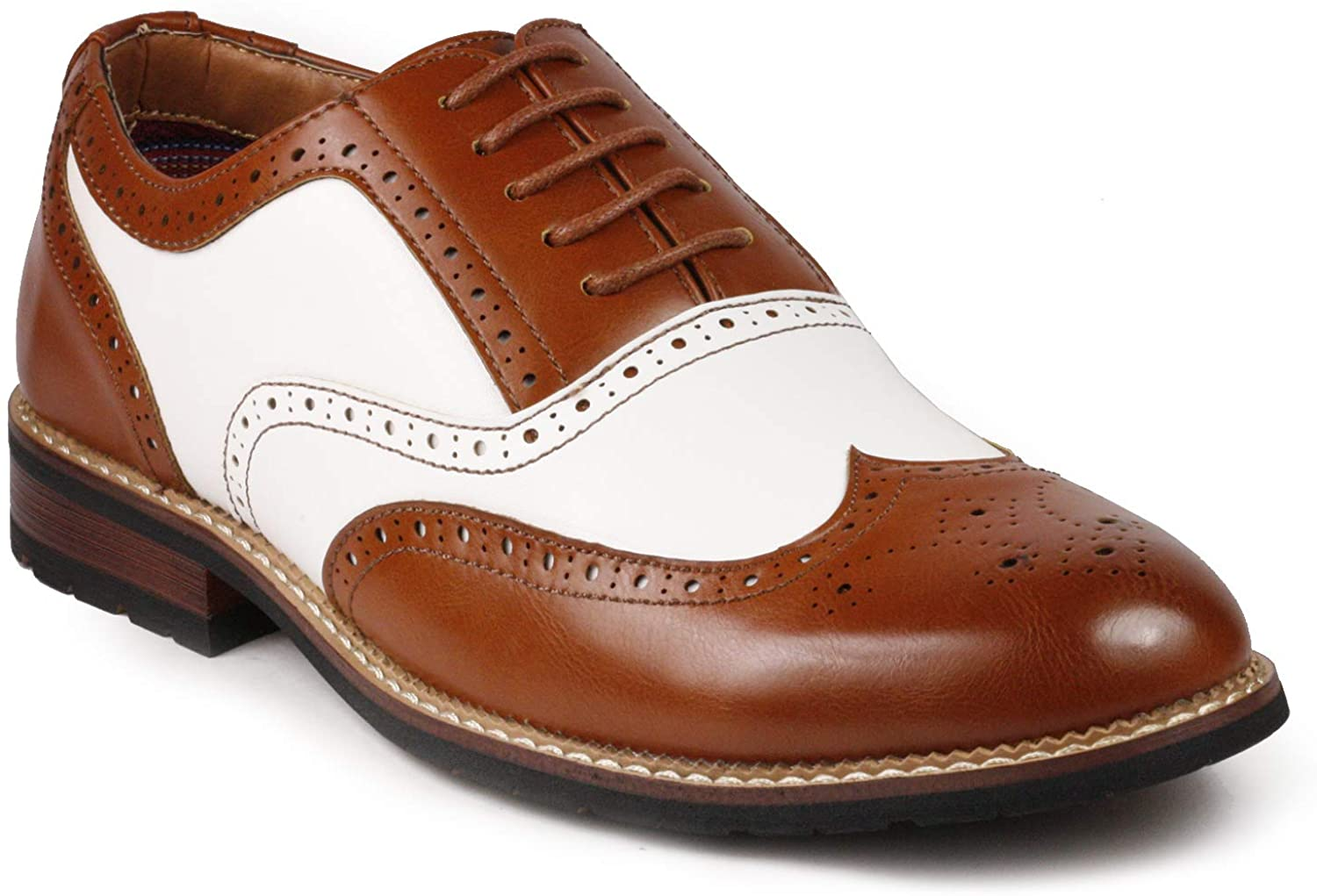 Selling and selling Metrocharm MC315 Men's Wing Tip Up Cheap Shoe Oxford Lace
