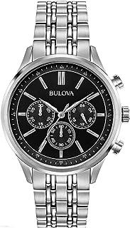 Bulova - Reloj Cronógrafo para Hombre de Cuarzo con Correa en Acero Inoxidable 96A211