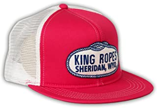 Brand King Ropes Pink with White Mesh Hat