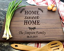 Housewarming Gifts, Personalized Cutting Board for New Home Owner, Couples, Friends,..