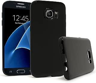 Bastex Samsung Galaxy S7 Case, Slim Fit Premium Shock Absorbing Flexible Rubber TPU Gel Case Cover for Samsung Galaxy S7 - Black