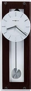 Howard Miller Emmett Contemporary Wall Clock 625-514 – Modern & Round with Pendulum & Quartz Movement