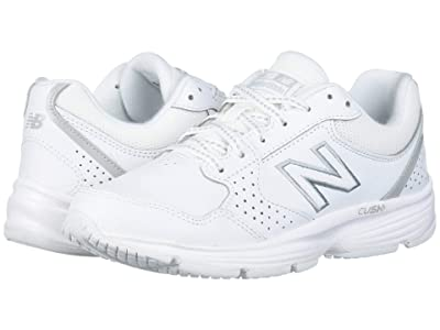 New Balance 411 (White/White) Women