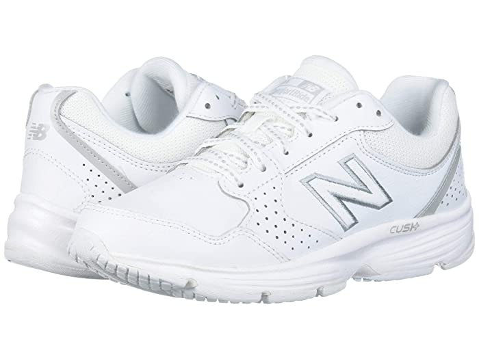 New Balance Women's 411 Health Leather Walking Shoes