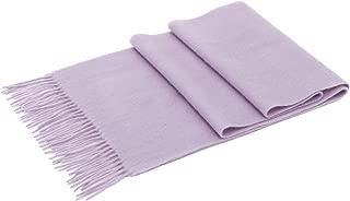 Simplicity Men Women Soft Luxurious Cashmere Scarf w/Gift Box