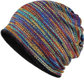 Winter Double-Layer Soft Fleece Stylish Beanie Neck Warmer Headband Knit Scarf Face Mask