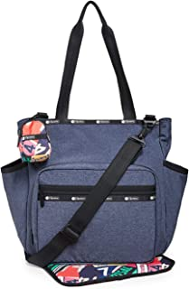LeSportsac Women's Janis Baby Bag Tote, Navy, Blue, One Size