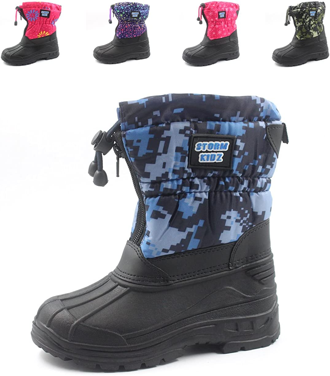 Storm Kidz Unisex Cold Weather Snow Boot Many Colors Toddler//Little Kid//Big Kid