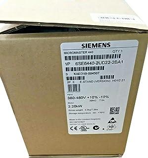 $651 » Sponsored Ad - Inverter 6SE6440-2UD22-2BA1 MICROMASTER 440 2.2kW Frequency Converter 6SE6 440-2UD22-2BA1