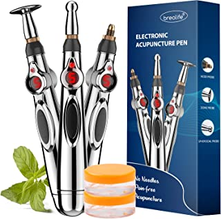 Acupuncture Pen, Electronic Acupuncture Pen - Pain Relief Therapy, Powerful Meridian Energy Pen Relief Pain Tools (3 Heads)