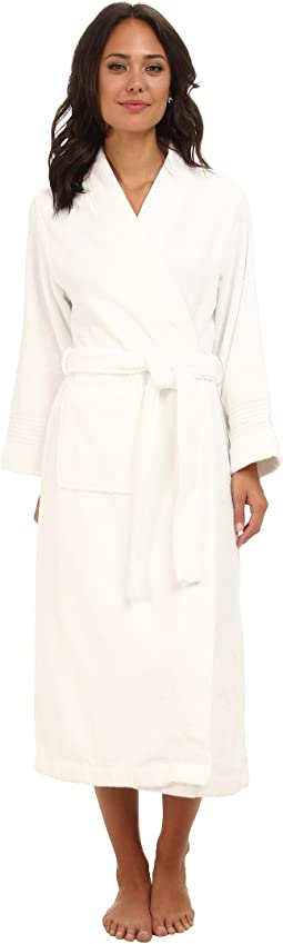 Greenwich Woven Terry Long Robe