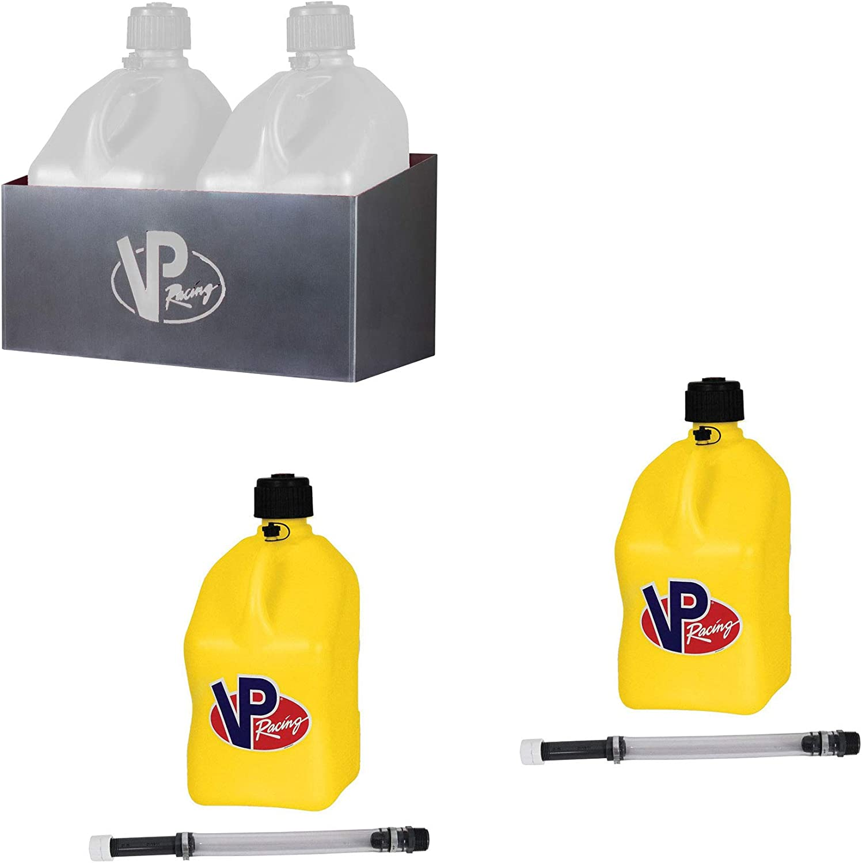 VP Racing Los Angeles Mall Fuels Aluminum 2 5 ☆ popular Jug for Holder Rack Gallon 5 Storage