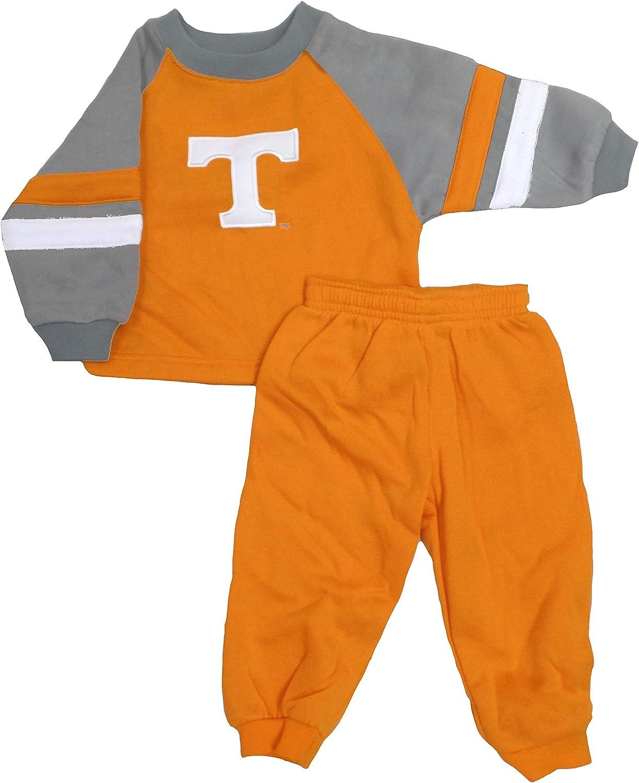 Genuine Stuff Tennessee Volunteers Infant Orange Sweatshirt/Pant Set : Sports & Outdoors