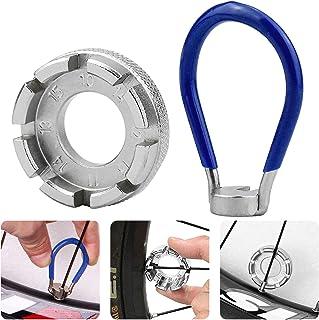 Pflege Speichenschlüssel 1pc Fahrrad Kappe Werkzeug Draht Rad Einsteller Gebaut