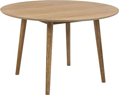 AC Design Furniture Pernille Table à manger, Chêne, Nature, 120 x 75 cm