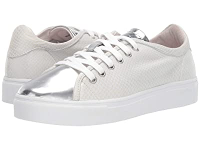 Blackstone Low Sneaker NL44 (White Metallic) Women