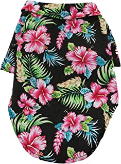 DOGGIE DESIGN Hawaiian Camp Dog Shirt
