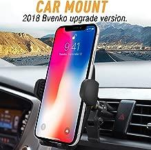 Bvenko Car Mount/Car Holder, Phone Mount/Car Phone Holder Universal Cell Phone Cradle Gravity Self-Locking Design Anti-Skid Base iPhone X/8/7Plus/6,Galaxy S8,Google,LG,Huawei etc