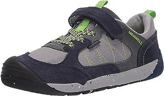 Merrell Unisex-Kid's Bare Steps Alpine Sneaker Sport Sandal, Navy, 12 Medium Big Kid