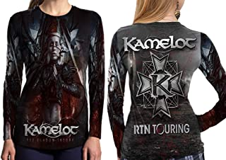 Kamelot American Power Metal Band from Tampa Woman TOP Shirt Fullprint Sublimation Custom Size S - 3XL
