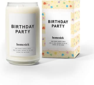 Homesick Scented Candle, Birthday Party