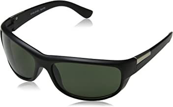 Eyelevel Fury Gafas de Sol, Negro (Black/Green Lens), 65 para Hombre