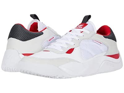 Supra Pecos (White/Red/White) Men