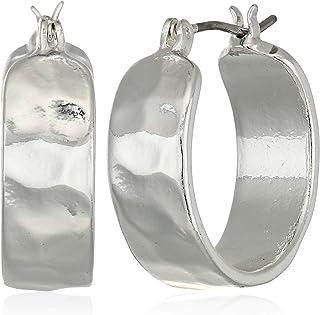Women's Silver Small Hoop Earrings