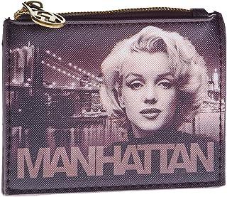 Karactermania Marilyn Monroe Manhattan - Monedero Cuadrado, Marrón y Beige