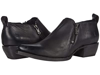 Frye Sacha Moto Shootie (Black 1) Women