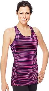 قميص نسائي من Hanes Sport بدون أكمام قابل للتمدد