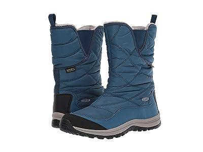 Keen Terradora Pull-On Waterproof Boot (Stellar/Majolica Blue) Women